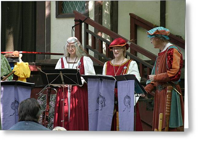 Merchant Greeting Cards - Maryland Renaissance Festival - Merchants - 121255 Greeting Card by DC Photographer