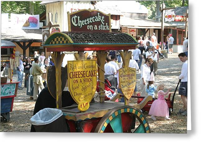 Maryland Renaissance Festival - Merchants - 121262 Greeting Card by DC Photographer