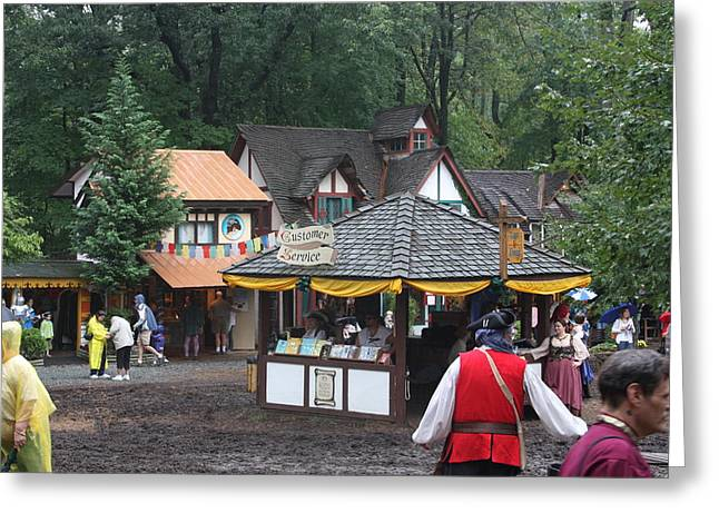 Rennfest Greeting Cards - Maryland Renaissance Festival - Merchants - 121266 Greeting Card by DC Photographer