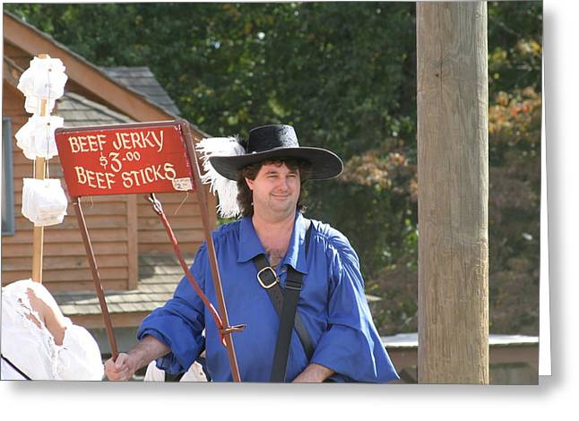 Rennfest Greeting Cards - Maryland Renaissance Festival - Merchants - 121279 Greeting Card by DC Photographer