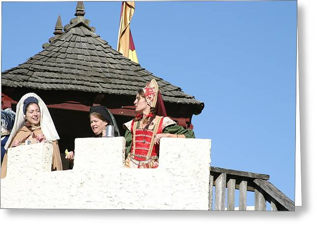 Open Photographs Greeting Cards - Maryland Renaissance Festival - Open Ceremony - 12123 Greeting Card by DC Photographer