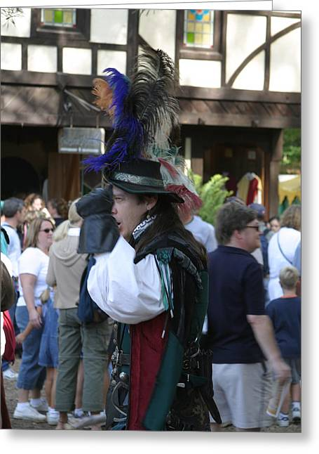 Rennfest Greeting Cards - Maryland Renaissance Festival - People - 1212108 Greeting Card by DC Photographer