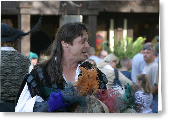 Old Photographs Greeting Cards - Maryland Renaissance Festival - People - 1212109 Greeting Card by DC Photographer