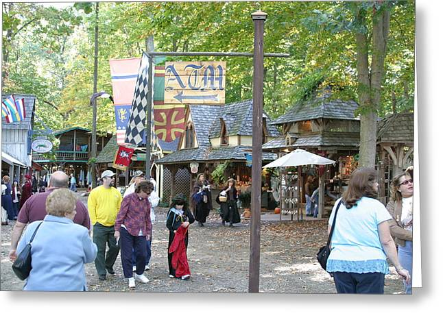 Rennfest Greeting Cards - Maryland Renaissance Festival - People - 121211 Greeting Card by DC Photographer