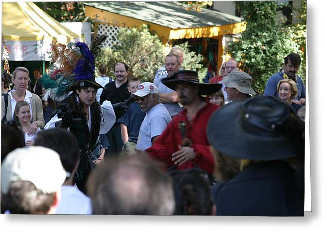 Maryland Renaissance Festival - People - 1212110 Greeting Card by DC Photographer