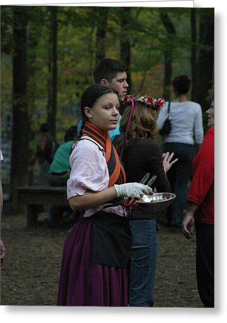 Maryland Renaissance Festival - People - 1212113 Greeting Card by DC Photographer