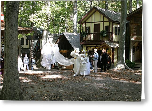 Rennfest Greeting Cards - Maryland Renaissance Festival - People - 121212 Greeting Card by DC Photographer