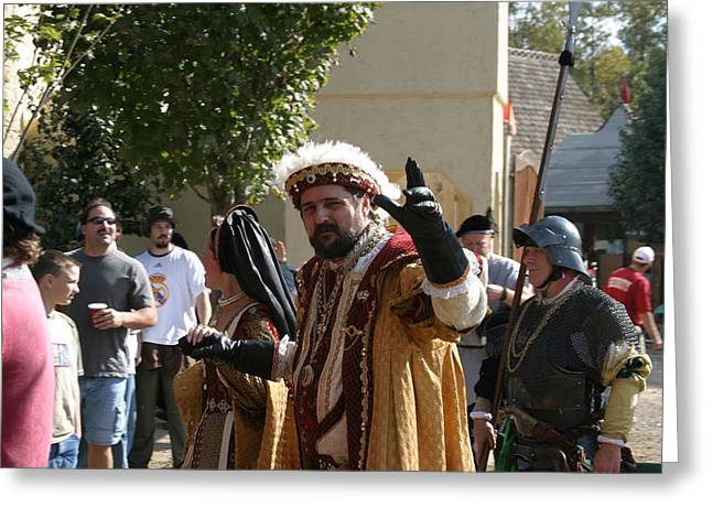 Medieval Greeting Cards - Maryland Renaissance Festival - People - 1212124 Greeting Card by DC Photographer