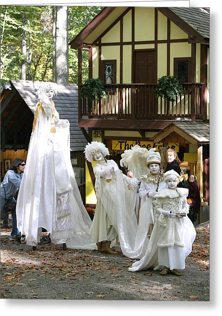 Rennfest Greeting Cards - Maryland Renaissance Festival - People - 121214 Greeting Card by DC Photographer