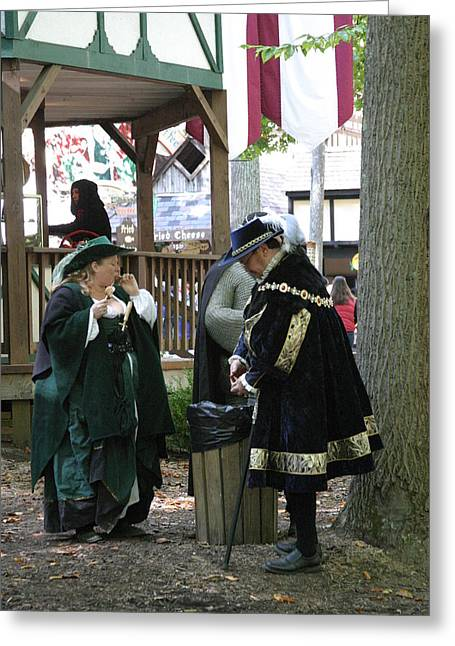 Rennfest Greeting Cards - Maryland Renaissance Festival - People - 121215 Greeting Card by DC Photographer