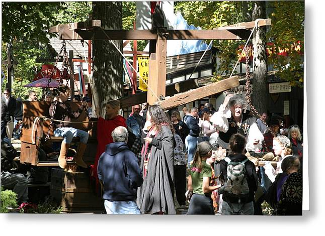 Rennfest Greeting Cards - Maryland Renaissance Festival - People - 121221 Greeting Card by DC Photographer