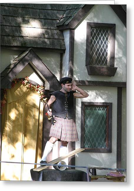Medieval Greeting Cards - Maryland Renaissance Festival - People - 121226 Greeting Card by DC Photographer