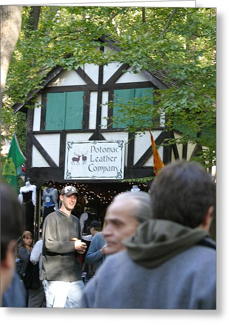 Rennfest Greeting Cards - Maryland Renaissance Festival - People - 121230 Greeting Card by DC Photographer