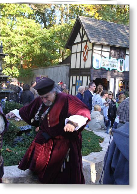 People Greeting Cards - Maryland Renaissance Festival - People - 121231 Greeting Card by DC Photographer