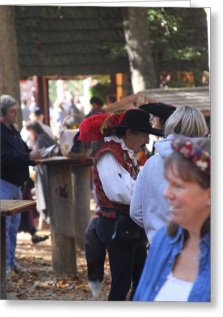 People Photographs Greeting Cards - Maryland Renaissance Festival - People - 121237 Greeting Card by DC Photographer