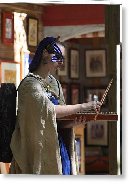 Festival Greeting Cards - Maryland Renaissance Festival - People - 121240 Greeting Card by DC Photographer