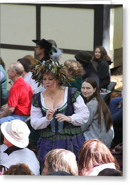 Rennfest Greeting Cards - Maryland Renaissance Festival - People - 121243 Greeting Card by DC Photographer