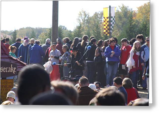 Maryland Renaissance Festival - People - 121246 Greeting Card by DC Photographer