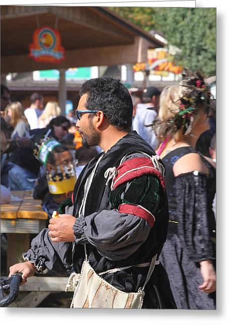 Maryland Renaissance Festival - People - 121248 Greeting Card by DC Photographer