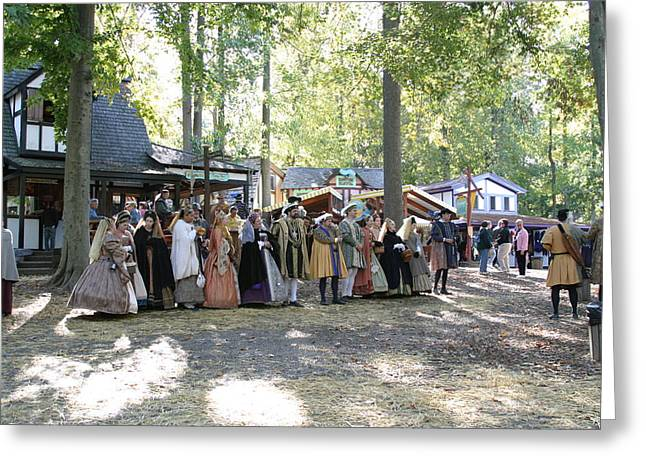 Rennfest Greeting Cards - Maryland Renaissance Festival - People - 12125 Greeting Card by DC Photographer