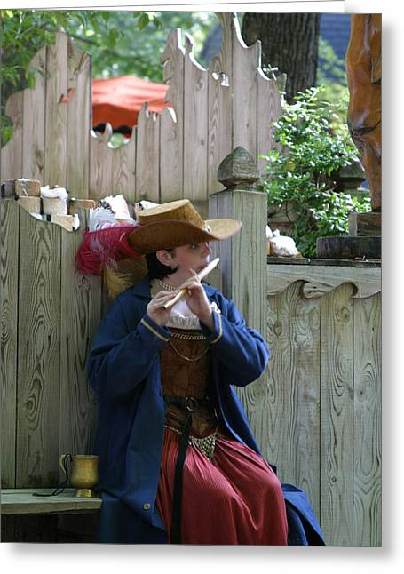 Rennfest Greeting Cards - Maryland Renaissance Festival - People - 121254 Greeting Card by DC Photographer