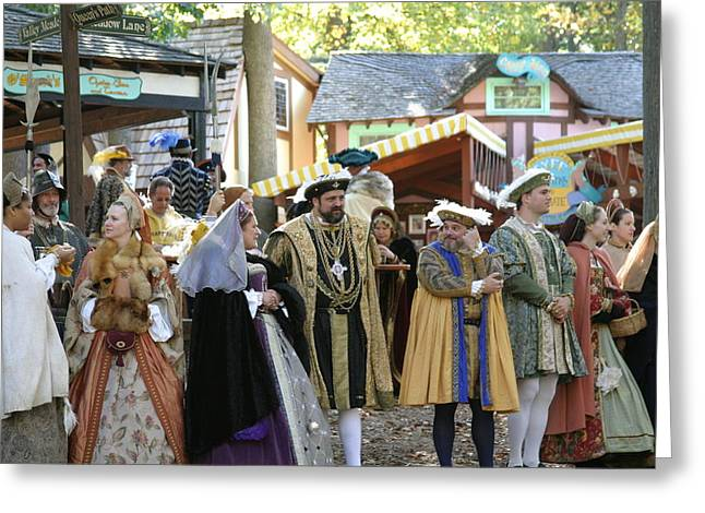 Rennfest Greeting Cards - Maryland Renaissance Festival - People - 12126 Greeting Card by DC Photographer