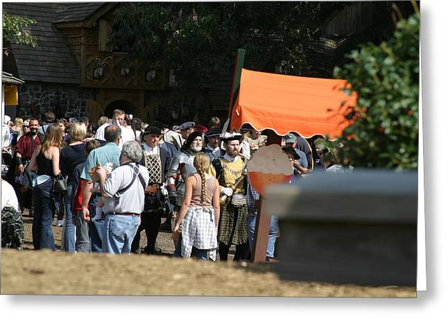 Rennfest Greeting Cards - Maryland Renaissance Festival - People - 121263 Greeting Card by DC Photographer