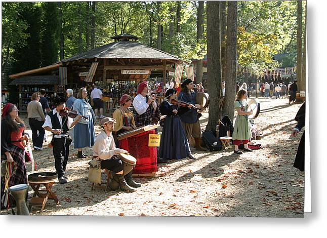 Rennfest Greeting Cards - Maryland Renaissance Festival - People - 121264 Greeting Card by DC Photographer