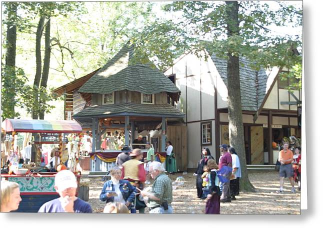 Middle Photographs Greeting Cards - Maryland Renaissance Festival - People - 121265 Greeting Card by DC Photographer