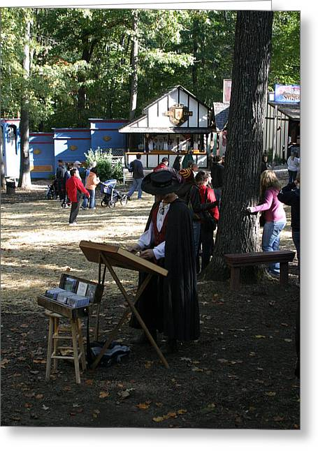 Rennfest Greeting Cards - Maryland Renaissance Festival - People - 12127 Greeting Card by DC Photographer