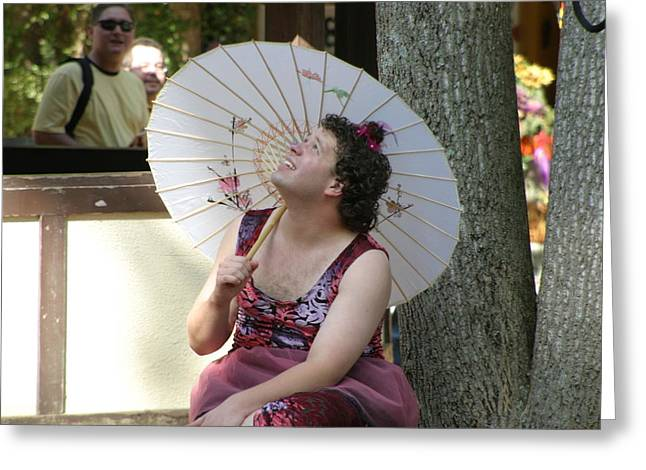 Rennfest Greeting Cards - Maryland Renaissance Festival - People - 121274 Greeting Card by DC Photographer