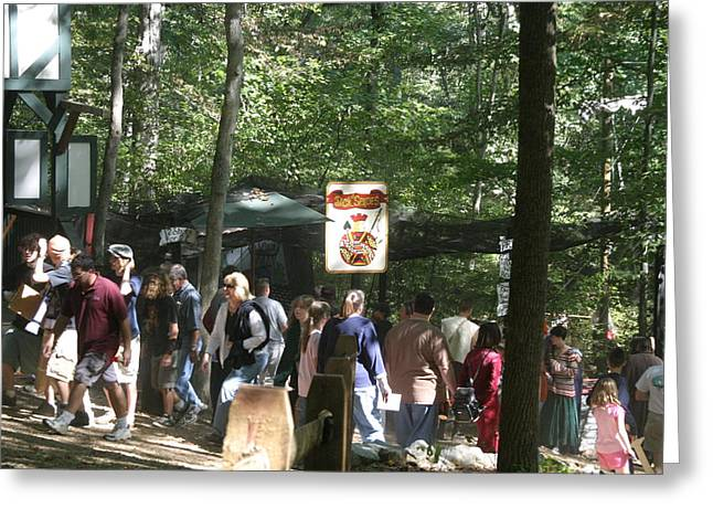 Rennfest Greeting Cards - Maryland Renaissance Festival - People - 121278 Greeting Card by DC Photographer