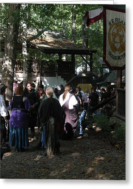 Rennfest Greeting Cards - Maryland Renaissance Festival - People - 121279 Greeting Card by DC Photographer