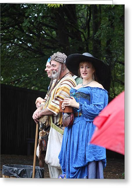 Maryland Renaissance Festival - People - 121280 Greeting Card by DC Photographer