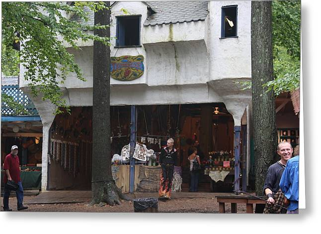 Rennfest Greeting Cards - Maryland Renaissance Festival - People - 121282 Greeting Card by DC Photographer