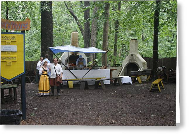 Maryland Renaissance Festival - People - 121286 Greeting Card by DC Photographer