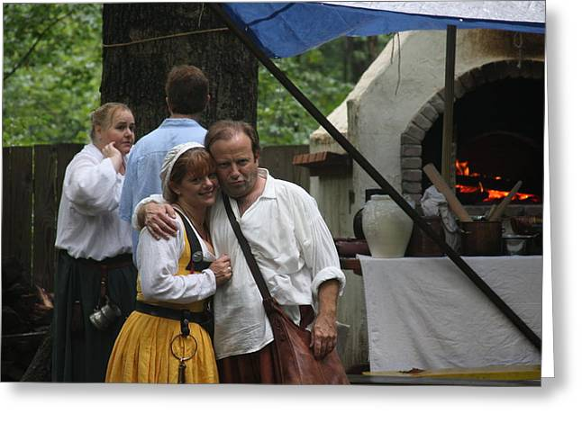 Middle Photographs Greeting Cards - Maryland Renaissance Festival - People - 121287 Greeting Card by DC Photographer