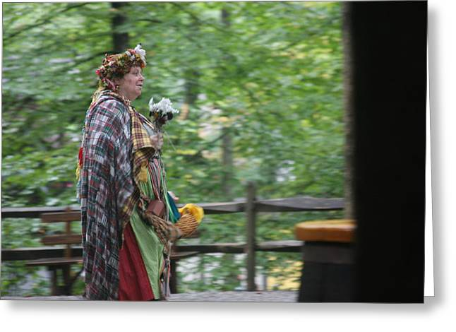 Rennfest Greeting Cards - Maryland Renaissance Festival - People - 121288 Greeting Card by DC Photographer