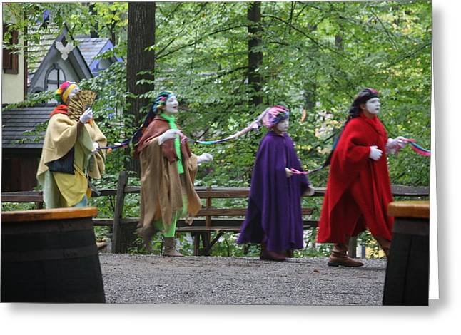 Rennfest Greeting Cards - Maryland Renaissance Festival - People - 121290 Greeting Card by DC Photographer