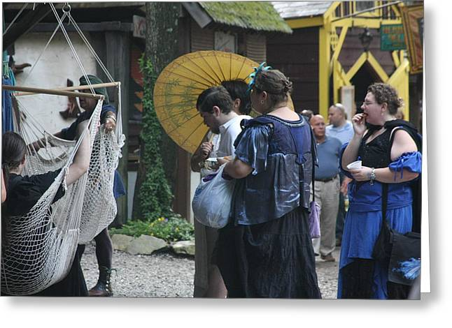 Rennfest Greeting Cards - Maryland Renaissance Festival - People - 121293 Greeting Card by DC Photographer