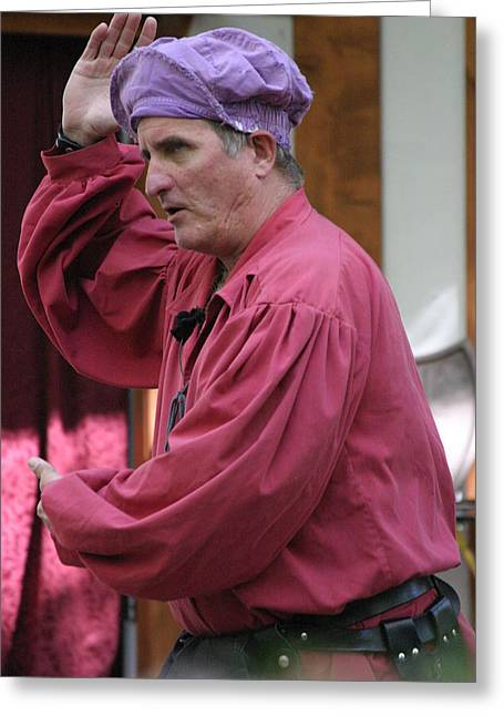 Maryland Renaissance Festival - Puke N Snot - 121213 Greeting Card by DC Photographer