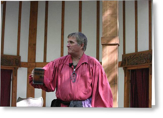 Maryland Renaissance Festival - Puke N Snot - 12123 Greeting Card by DC Photographer
