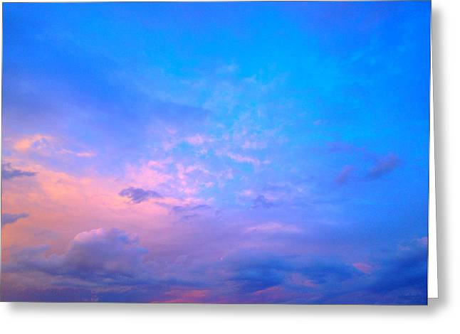 Gloaming Greeting Cards - Maryland Skies 1 Greeting Card by Robert Pierce