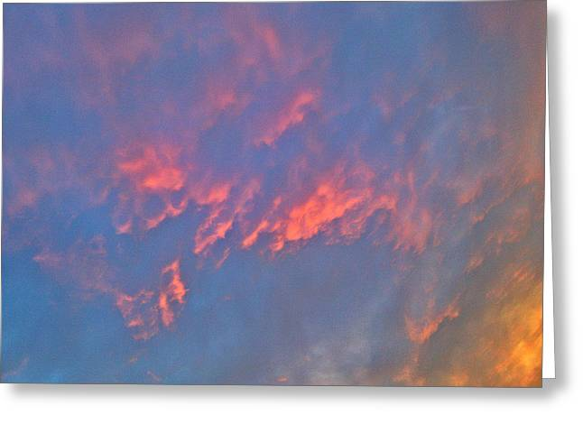 Gloaming Greeting Cards - Maryland Skies 13 Greeting Card by Robert Pierce