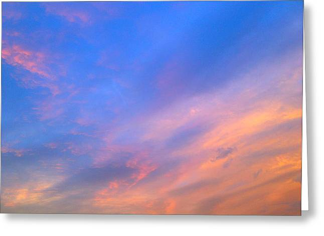 Gloaming Greeting Cards - Maryland Skies 2 Greeting Card by Robert Pierce