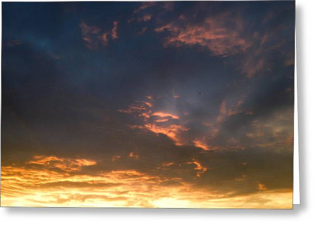Gloaming Greeting Cards - Maryland Skies 5 Greeting Card by Robert Pierce