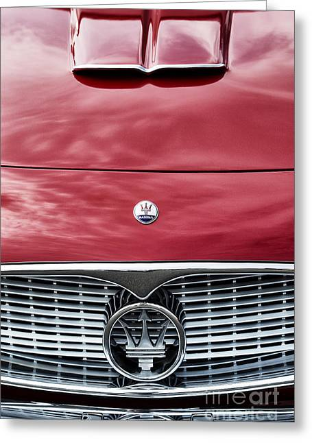 Maserati Greeting Cards - Maserati 3500 GT Greeting Card by Tim Gainey