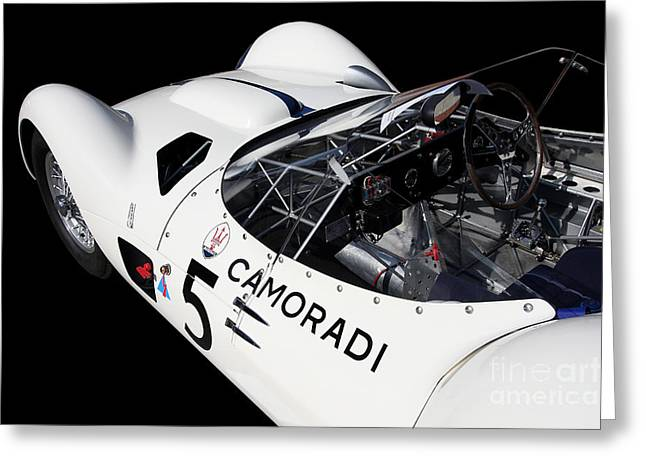 Import Car Greeting Cards - Maserati Camoradi Greeting Card by Wingsdomain Art and Photography