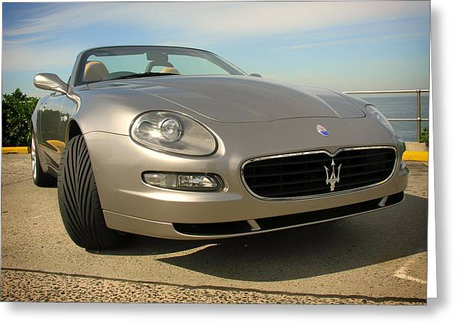 Auto-portrait Greeting Cards - Maserati  Greeting Card by Mountain Dreams