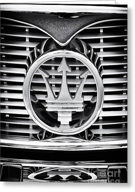 Maserati  Greeting Card by Tim Gainey